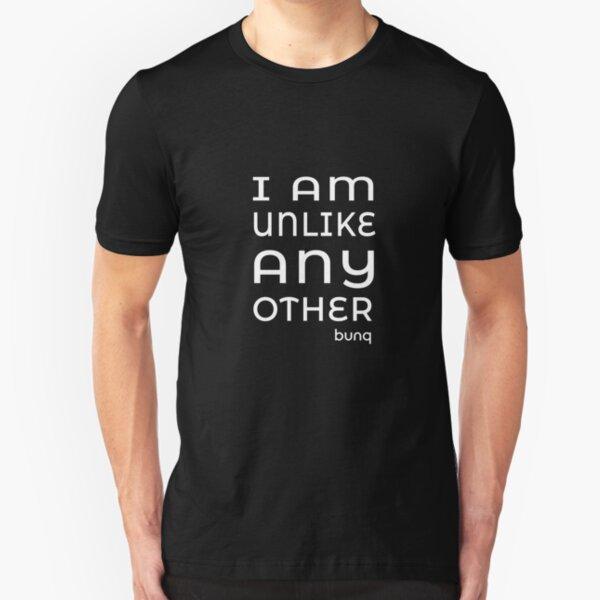 bunq - I am unlike any other Slim Fit T-Shirt