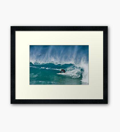 Close Out - Maroubra Beach - Sydney - Australia Framed Print