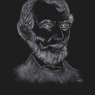 Abraham Lincoln by bev langby