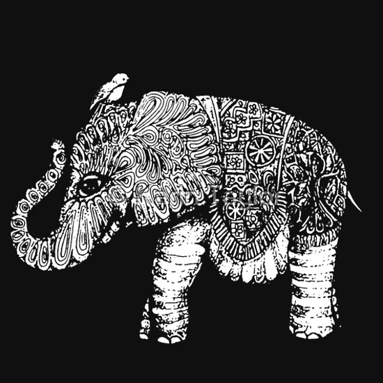 TShirtGifter presents: Elephant Baby