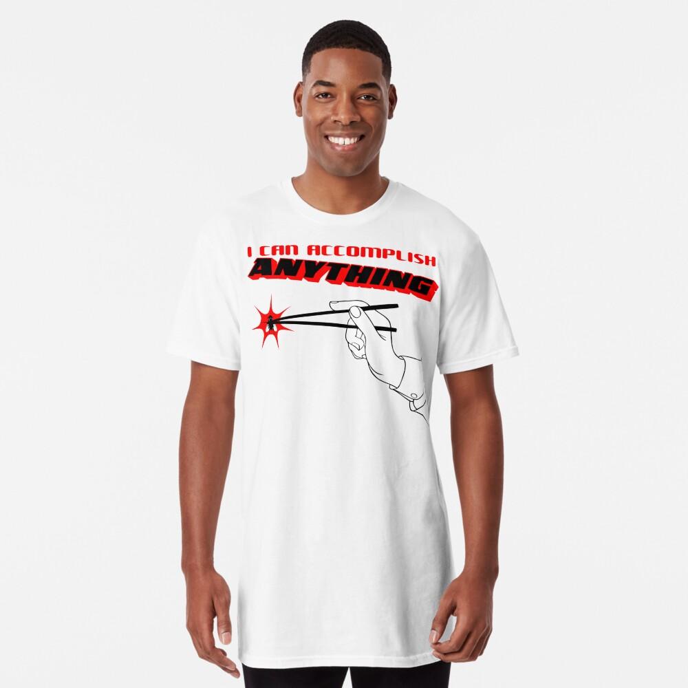 Ich kann alles erreichen - Black & Red Longshirt