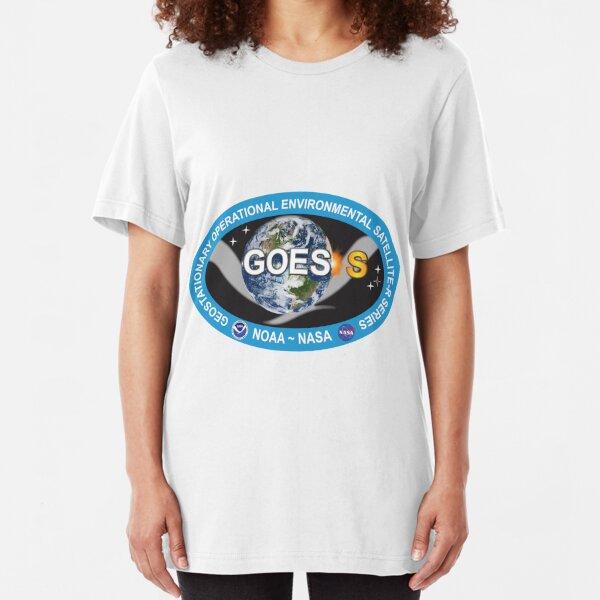GOES-S Logo Slim Fit T-Shirt