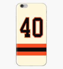 San Francisco Baseball - Cream Number 40 iPhone Case
