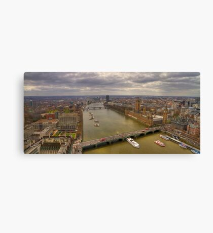 The Thames & London Panorama Canvas Print