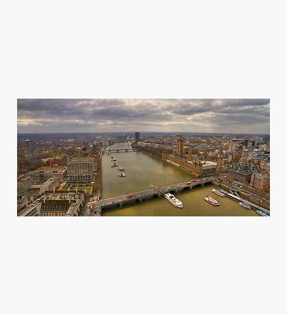 The Thames & London Panorama Photographic Print