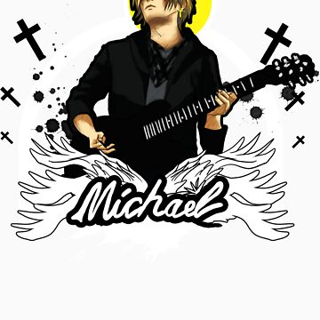 Michael Rock n' Roll by blackfeatherg