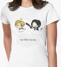 Your Move, Holy Man Womens Fitted T-Shirt