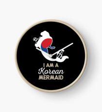South Korea Korean Mermaid Clock