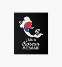 South Korea Korean Mermaid Art Board