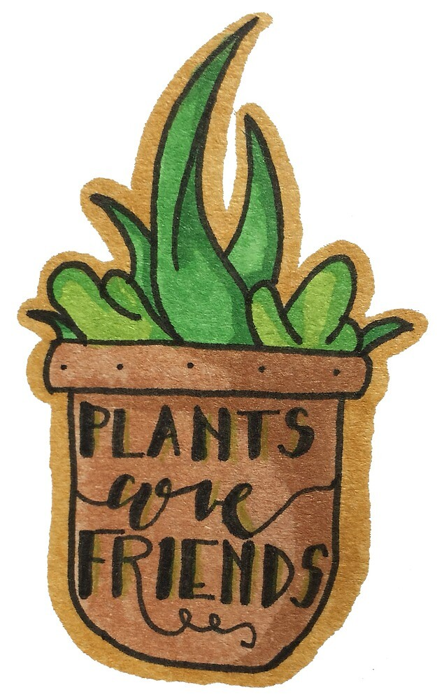 plants are your friends by k-draws