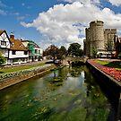 Westgate, medieval gatehouse in Canterbury, Kent by Richard Majlinder