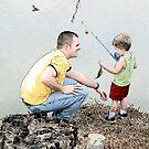 Fishing Buddies by Esther Johnson