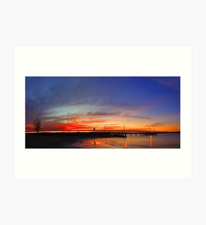 Applecross At Sunset  Art Print
