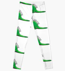 Herbivore dinosaur vegan plant based Leggings