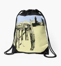 Mamaroneck Bay Drawstring Bag