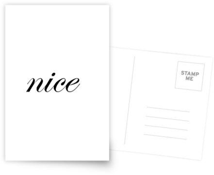 nice - Design von DerJimmyJere