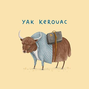 Yak Kerouac by SophieCorrigan
