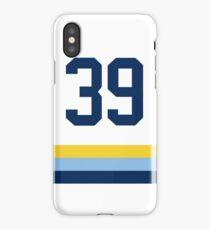 Tampa Bay Baseball - White Number 39 iPhone Case