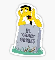"""RL """"Grimey"""" Grimes Sticker"""
