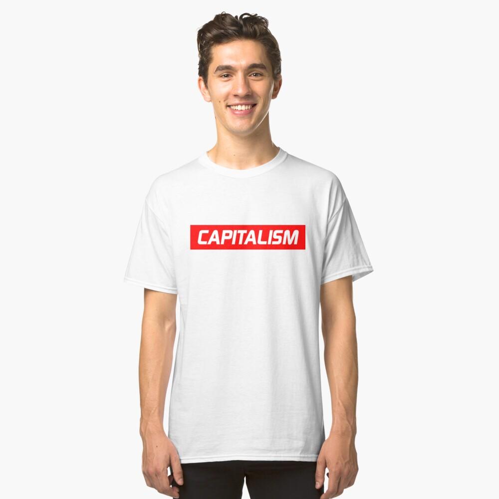 Capitalism Classic T-Shirt Front