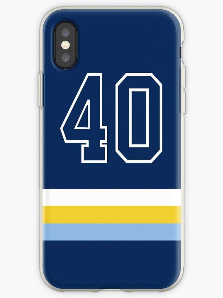Tampa Bay Baseball - Navy Number 40 by flatback4