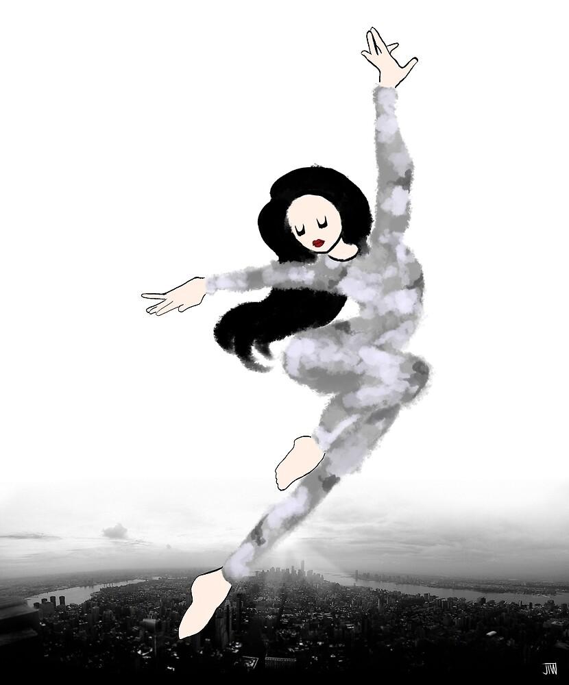 The Sky Dancer- Overcast by juliawidmaier