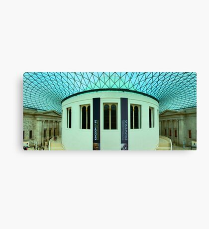 The Great Court - British Museum - London - HDR Panorama Canvas Print