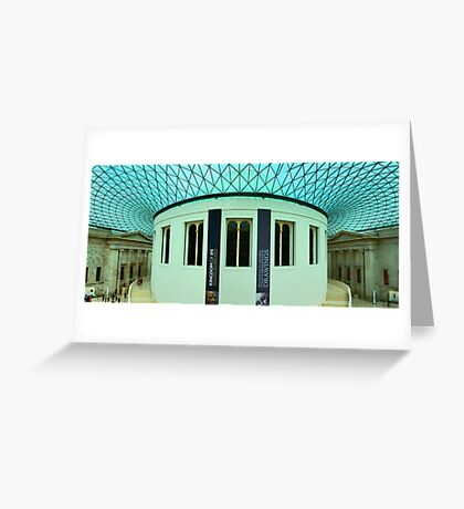 The Great Court - British Museum - London - HDR Panorama Greeting Card