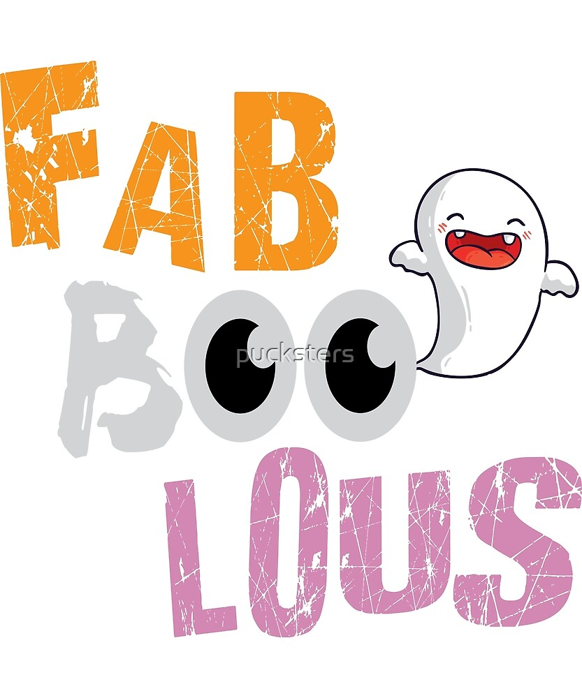 Fab-Boo-lous Ghost by pucksters