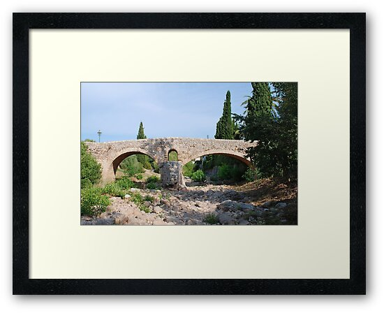 Roman bridge, Pollenca by David Fowler
