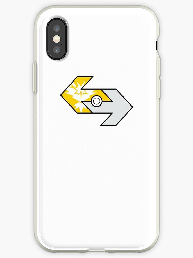 Pokémon GO Team Instinct trade logo by RCOtz