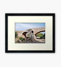 Roman bridge in Pollenca Framed Print