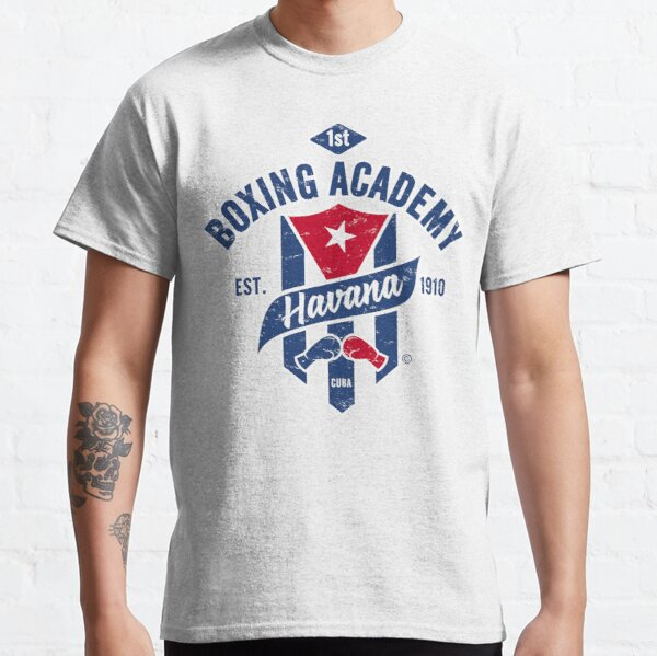 1ST BOXING ACADEMY HAVANA, EST. 1910 CUBA, USED LOOK, BY SUBGIRL Classic T-Shirt