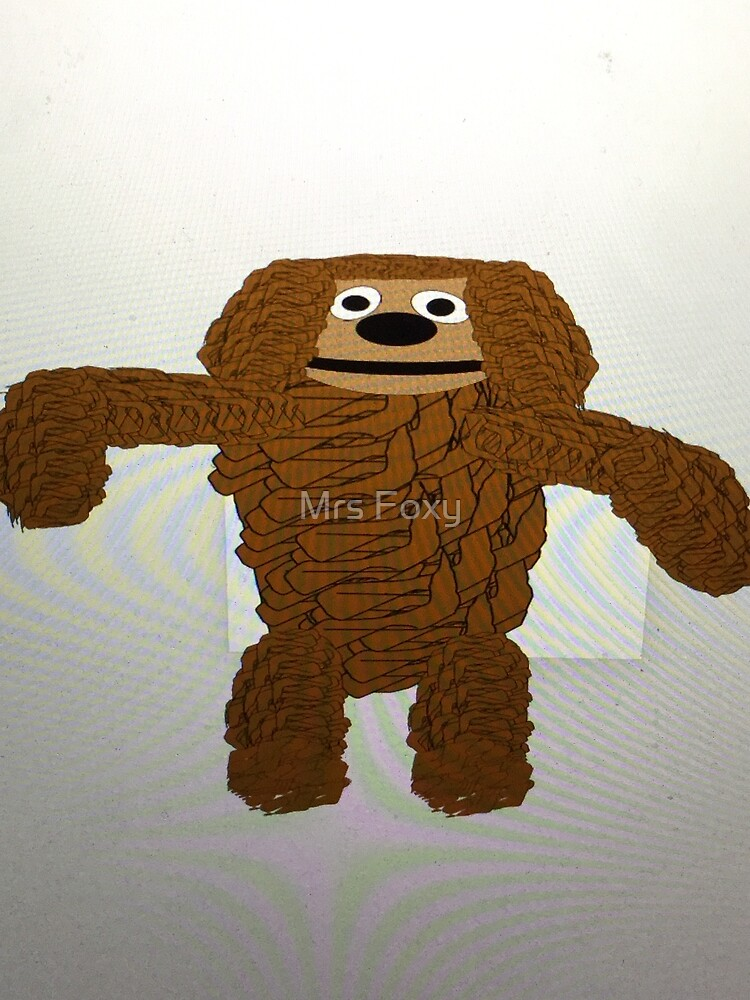 Rowlf the dog (The Muppets) by Mrs Foxy