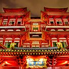 Red Chinatown by Richard Majlinder
