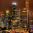 Singapore Marina Bay by Richard Majlinder