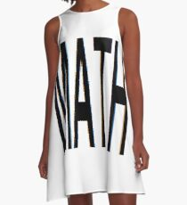 Math, Mathematics, Science, #Math, #Mathematics, #Science A-Line Dress