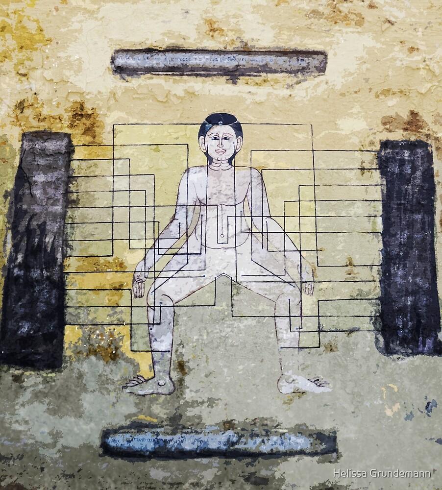 Ancient Traditional Thai Medicine mural by Helissa Grundemann