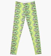 Love all animals cute kawaii vegan Leggings