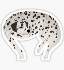 Year of the Dog - Dalmatian Dog Sticker