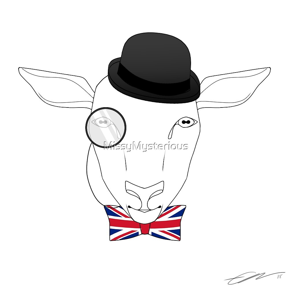 British Sheep by MissyMysterious