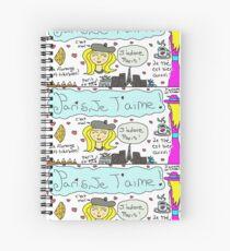Paris Love Spiral Notebook