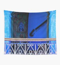 The Blue City III [Print / iPad case / Phone case / Clothing / Decor] Wall Tapestry