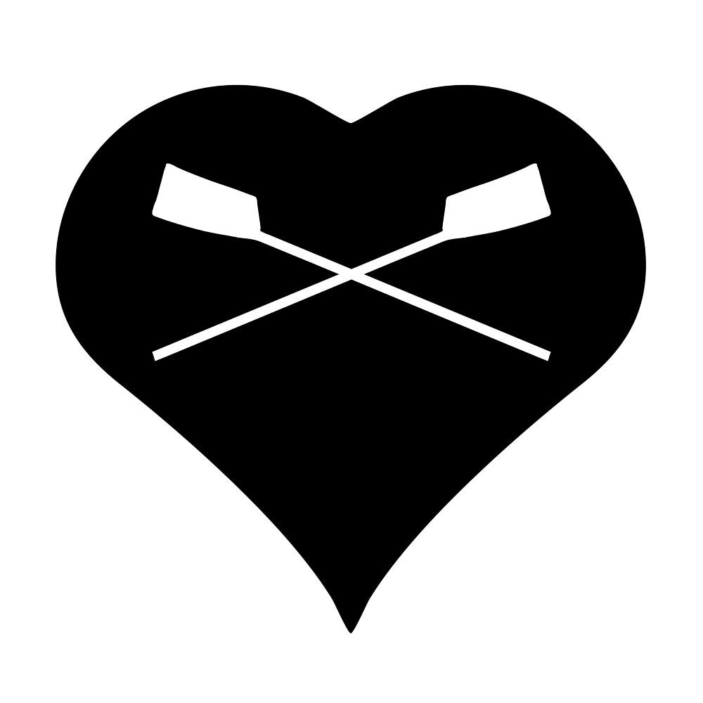 Love To Row (Two Oars) by Richard Rabassa