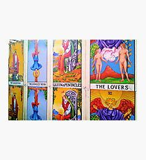 Tarot Cards in New Orleans Photographic Print