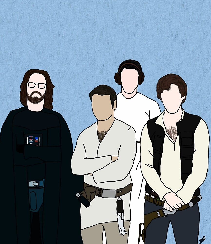 Silicon Valley and Star Wars by jareddunns