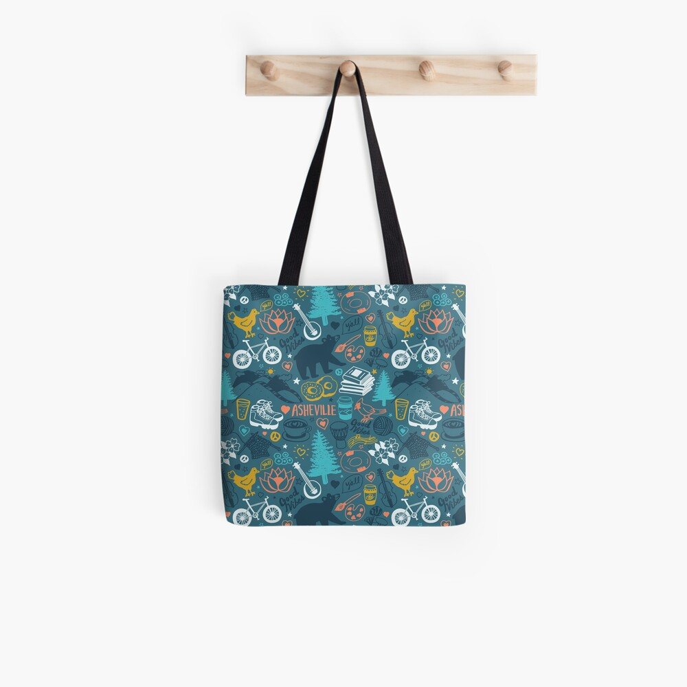 The Life in Asheville Tote Bag