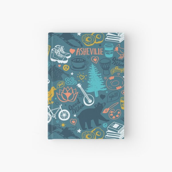 The Life in Asheville Hardcover Journal