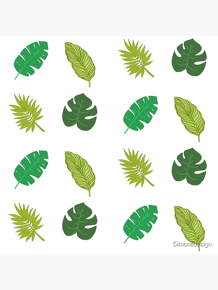 Tropical Leaf Tumblr Drawing Tote Bag By Simonsdesign Redbubble Here you can explore hq tropical leaves transparent illustrations, icons and clipart with filter setting like polish your personal project or design with these tropical leaves transparent png images. redbubble