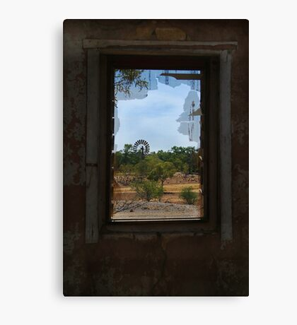 Ruin,Old Cork Station, Outback Queensland Canvas Print